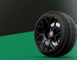 HRE Monoblock automotive -RIM ONLY- 3D Model