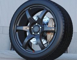 rays th3 vr forged automotive -rim only- 3d