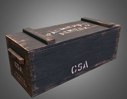 3D model Civil War Crate