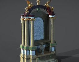 Historical Interior Design 3D model