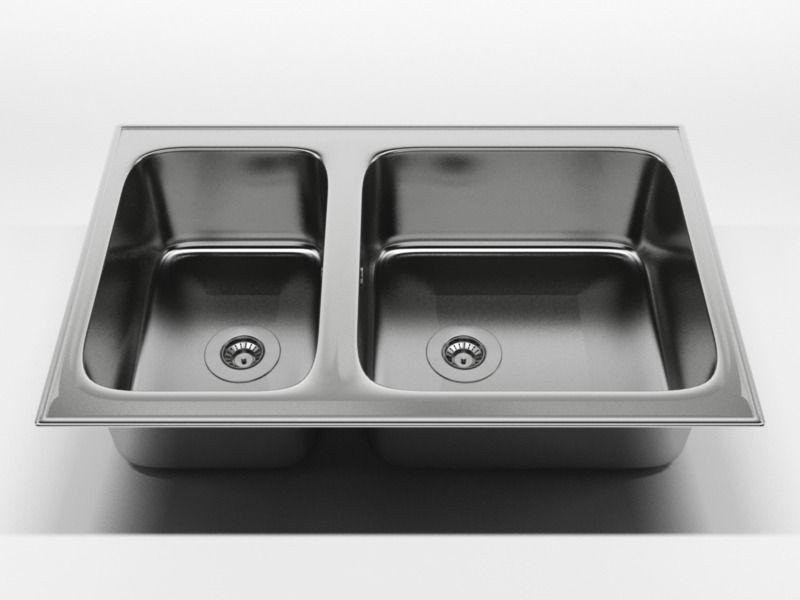 kitchen sink 2 3d model c4d 1