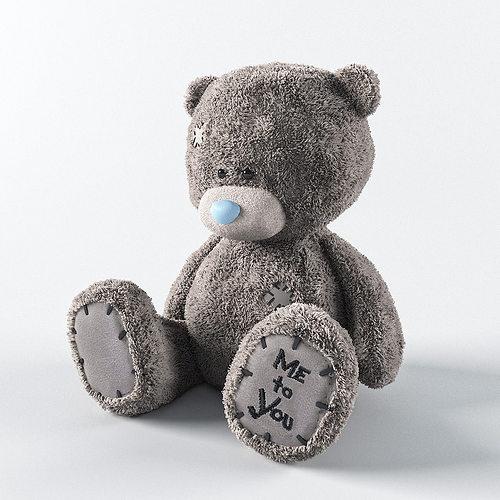 teddy 3d model max obj fbx mtl 1