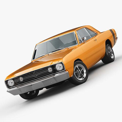3D Model Dodge Dart 1968