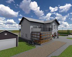 Simple house 3D