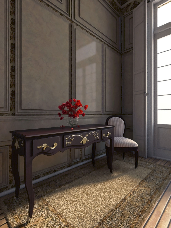 3d Room Interior Design: Neoclassical Apartment Interior 3D Model MAX