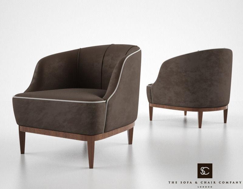 The Sofa And Chair Company   Lloyd Armchair 3d Model Max Obj Fbx Mtl 1 ...