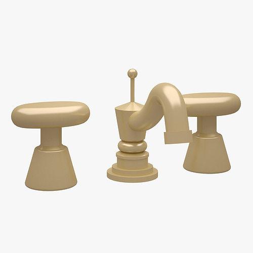 faucet 004 3d model max fbx 1