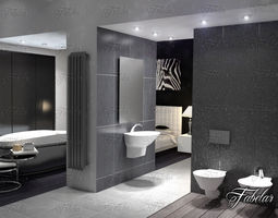 Bathroom 3d models download 3d bathroom files for Bathroom models images