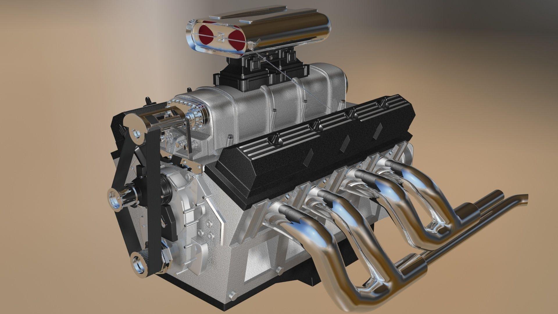 Model V8 Engine Mobile Waschanlagecom