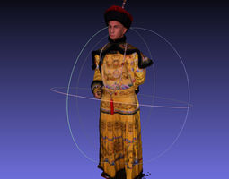 3D Chinese star emperor Nicky Wu