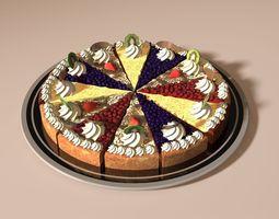 3D model Cake birthday-cake