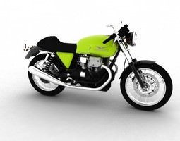 3D model Moto Guzzi V7 Caf Classic