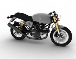 3D Ducati SportClassic GT1000 2010