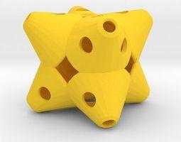 Dice jewelry 3D print model