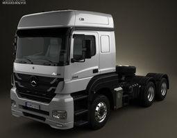 mercedes-benz axor tractor truck 2011 3d