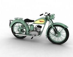 3D model BSA Bantam D1 1948