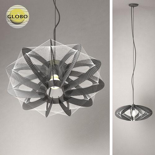 chandelier globo lightning 3 3d model max obj mtl 3ds fbx stl 1