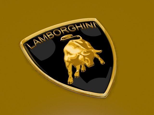 3d Model Lamborghini Logo Cgtrader