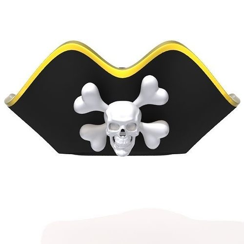 8d62168cf8f pirate hat 3d model max obj mtl ma mb 1 ...