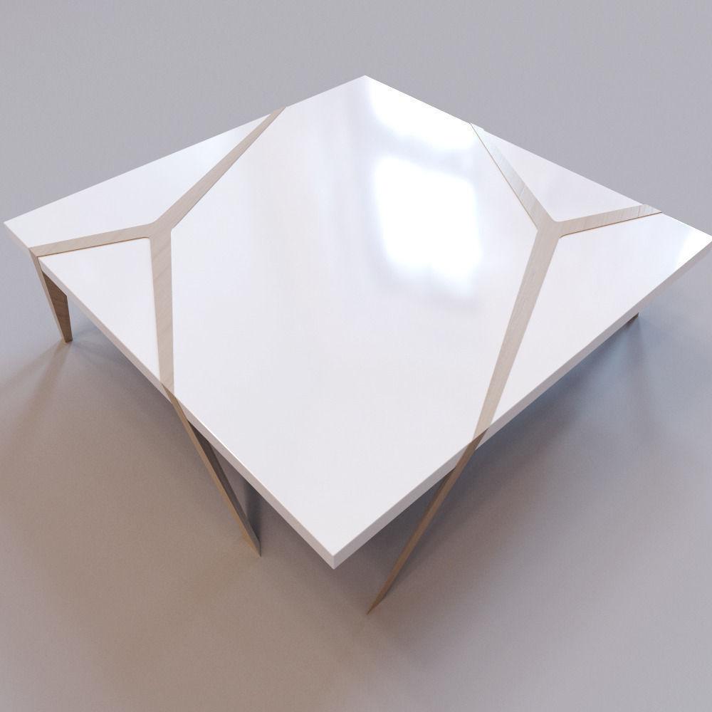 Roche Bobois   Mangrove Cocktail Table 3D Asset