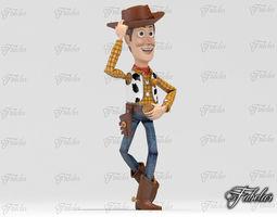 Woody pose 1 - Printable 3D Model