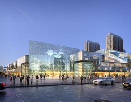 3d city shopping mall 029