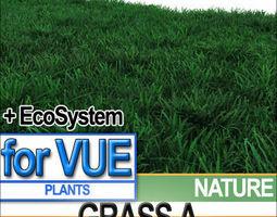 Grass A 5 Colors Vue EcoSystem 3D model