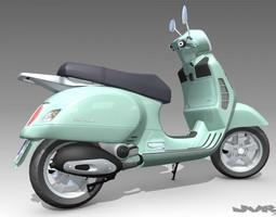 3D Vespa GT 200