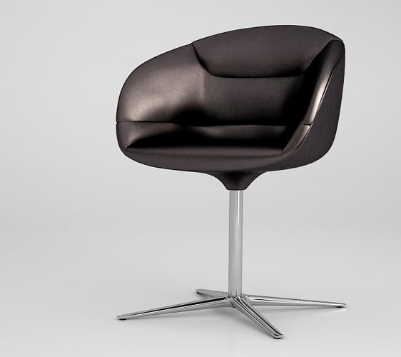 walter knoll kyo chair 3d cgtrader. Black Bedroom Furniture Sets. Home Design Ideas