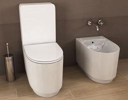 ideal standard bidet k5059 tonic series free 3d model max. Black Bedroom Furniture Sets. Home Design Ideas