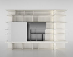 3D Molteni Sequence 2 with books