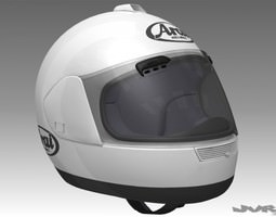 motorcycle helmet 3d model