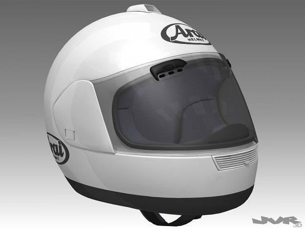 motorcycle helmet 3d model max obj mtl 3ds fbx dxf 1