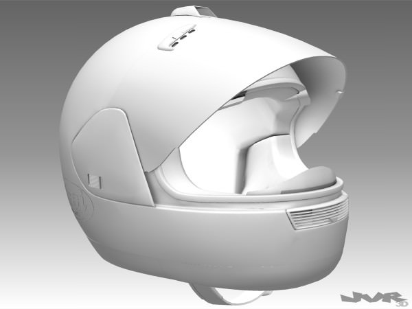 Motorcycle Helmet 3d Model Max Obj 3ds Fbx Dxf Cgtrader Com