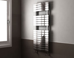 3D model Heated towel rails Scirocco H sail