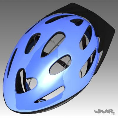 Cycle Helmet Free 3d Model