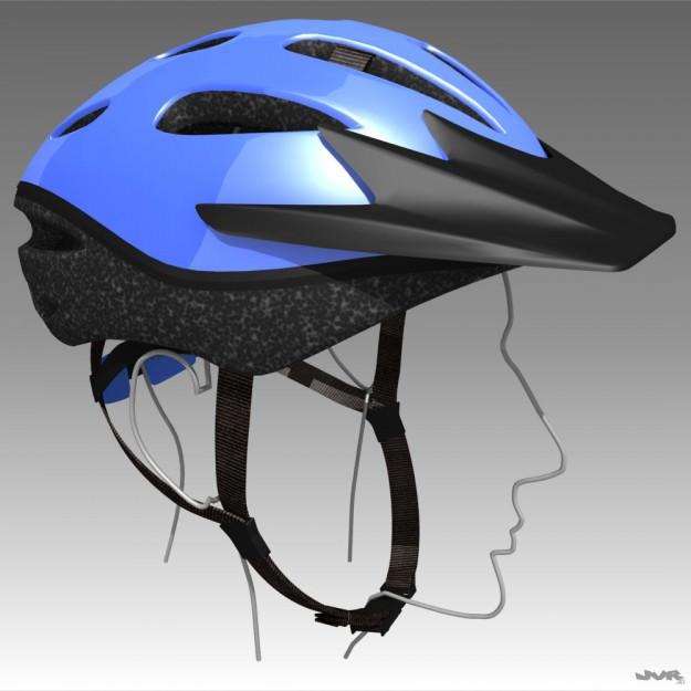Bicycle Helmet | 3D model