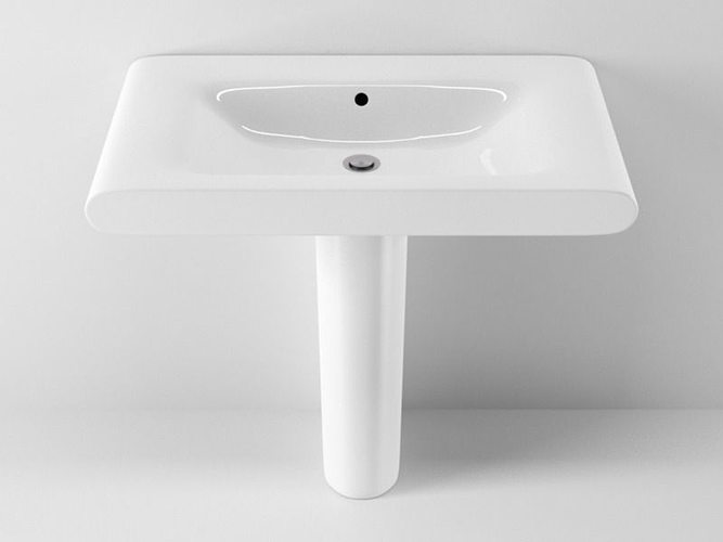 3d Model Ideal Standard Moments Washbasin N20 Cgtrader