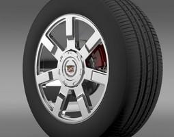3D Cadillac Escalade esv 2wd2 wheel
