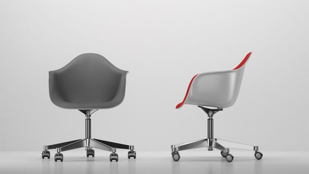 vitra eames plastic armchair pacc 3d model c4d. Black Bedroom Furniture Sets. Home Design Ideas