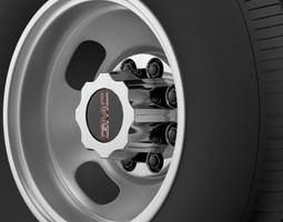 GMC Sierra 3500HD 2008 2 wheel 3D
