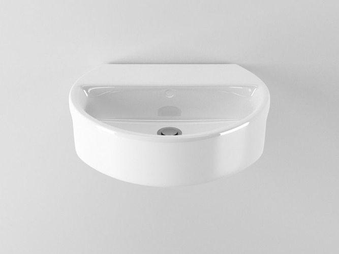 3d Model Ideal Standard Sphere Washbasin N39 Cgtrader