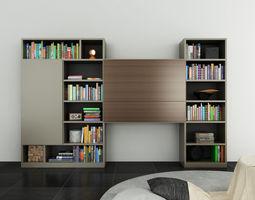 molteni 505 11 free 3d model c4d. Black Bedroom Furniture Sets. Home Design Ideas