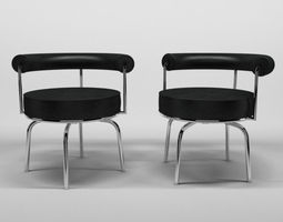 3D model Le Corbusier chair N11