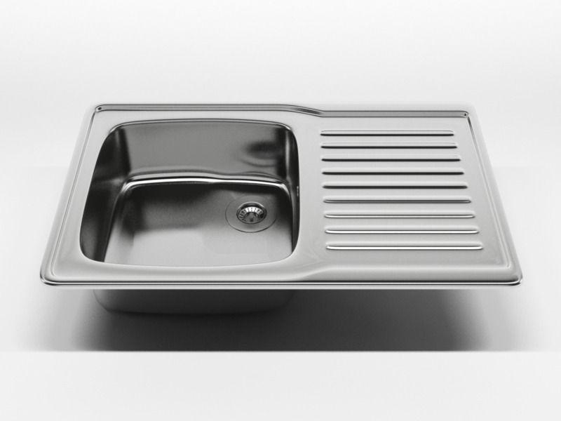 ... kitchen sink n65 3d model high quality 3d model of kitchen sink the