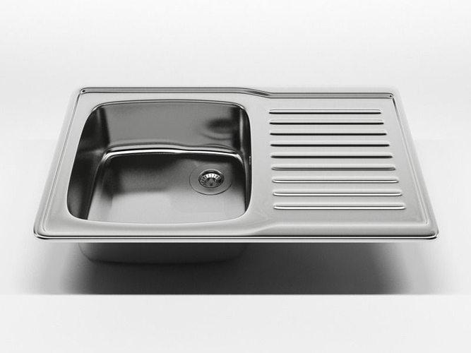 Kitchen Sink N65 3D Model