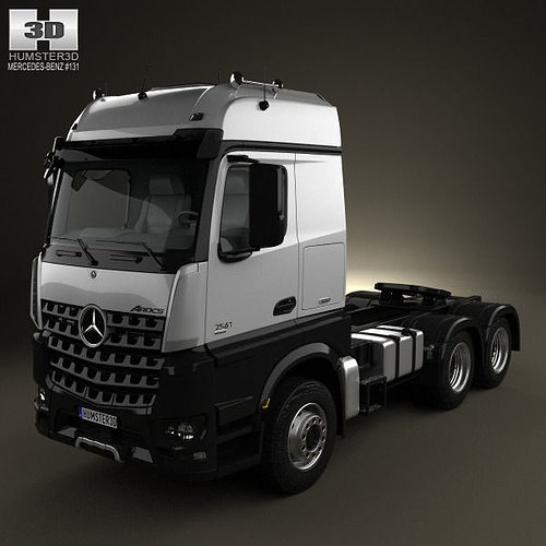 Mercedes benz arocs tractor truck 2013 3d model cgtrader for Mercedes benz truck models