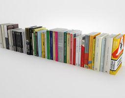 3d novel collection