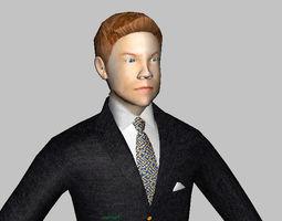 3D asset Corporate Male