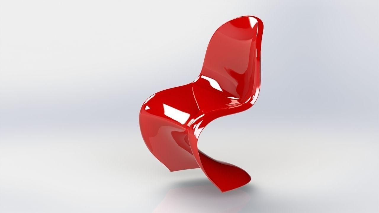 Panton Chair 3d Model Stl Sldprt Sldasm Slddrw 1 ...